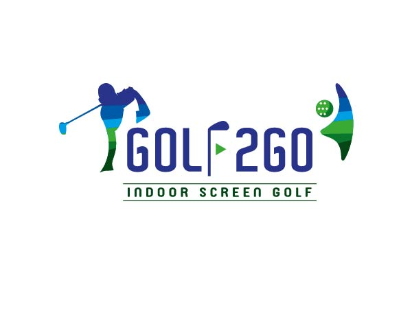 GOLF 2 GO SCREEN GOLF LOGO